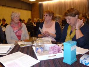 Bespreken van vragen in roulerende groepjes